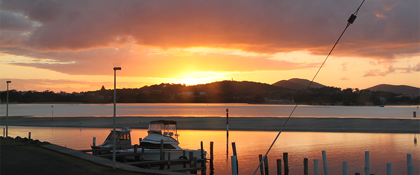 Fairholme sunset API Leisure & Lifestyle Holiday Homes Tuncurry.jpg